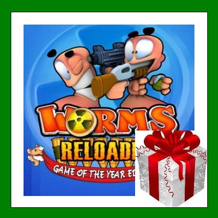 Worms Reloaded + All DLC - Steam Region Free + ПОДАРОК