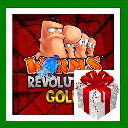 Worms Revolution Gold Edition - Steam RU-CIS-UA + БОНУС