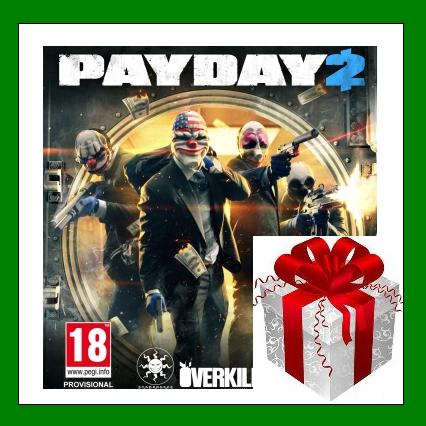 2Payday 2 + 3 DLC - Steam RU-CIS-UA + ПОДАРОК