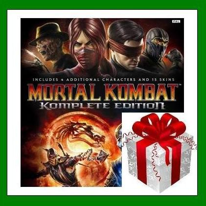 Mortal Kombat Komplete Edition - Steam Key Region Free