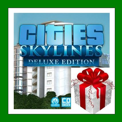 Cities Skylines Deluxe Edition - Steam RU-CIS-UA