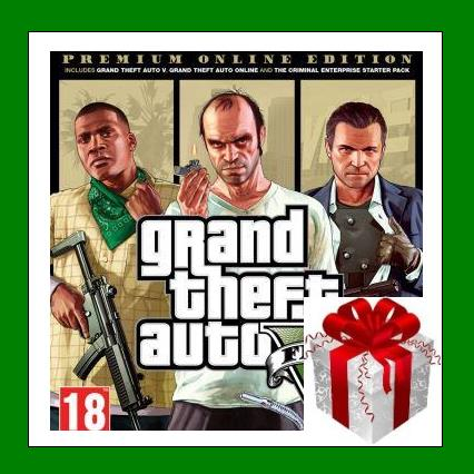 GRAND THEFT AUTO 5 V: PREMIUM ONLINE EDITION RU-CIS-UA