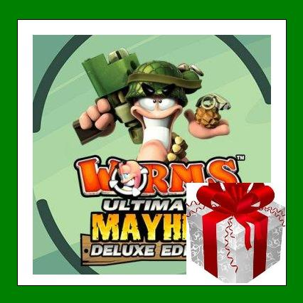 Worms Ultimate Mayhem Deluxe - Steam Key - Region Free