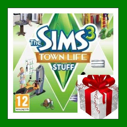 The Sims 3 Town Life Stuff DLC - Origin Region Free