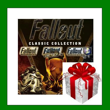 Fallout Classic Collection - Steam Region Free + БОНУС