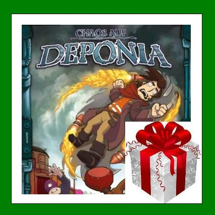 Chaos on Deponia - Steam RU-CIS-UA + ПОДАРОК