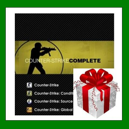 Counter Strike Complete - Steam RU-CIS*-UA + ПОДАРОК