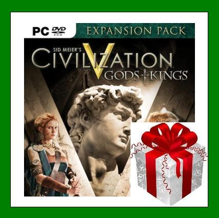 Civilization V - Gods and Kings - Steam Region Free