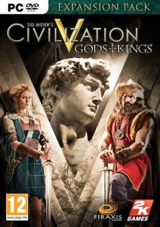 Civilization V 5 - Gods and Kings - Steam Region Free