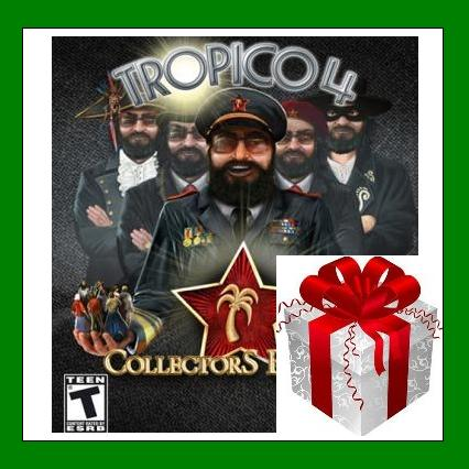 Tropico 4 Collector´s Bundle - Steam Gift Region Free