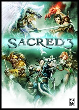 Sacred 3 + 3 DLC - key for Steam + GIFT