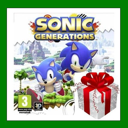 Sonic Generations - Steam Region Free + ПОДАРОК