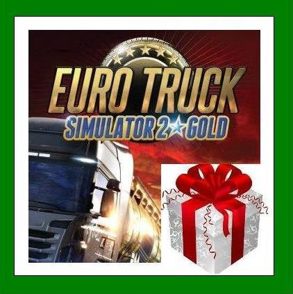 Euro Truck Simulator 2 Gold Edition - Steam RU-CIS-UA