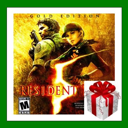 Resident Evil 5 Gold Edition - Steam RU-CIS + ПОДАРОК