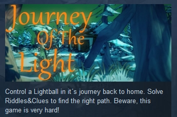 Journey Of The Light Steam Gift SA Locked