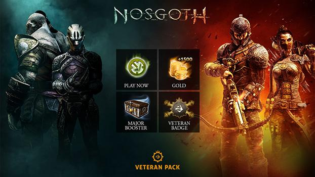Nosgoth - Veteran Pack Steam Gift Row