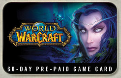 World of WarCraft Euro 60-days TIME-CARD