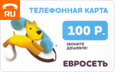 Euroset 100 rub Payment Card