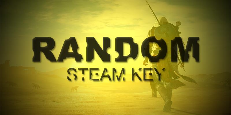 Фотография случайный steam ключ [выгода 100%]
