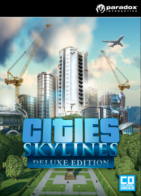 Cities Skylines Deluxe Edition steam key region free