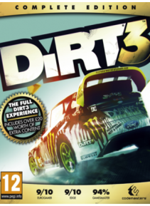 Colin McRae DIRT 3 Complete Edition steam key reg free