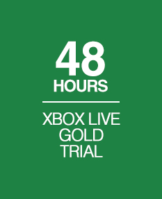 XBOX Live Gold 48 hours TRIAL | Region Free