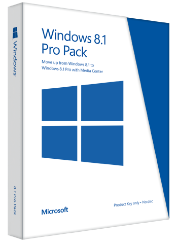 Windows 8.1 Professional + Office 365 Personal