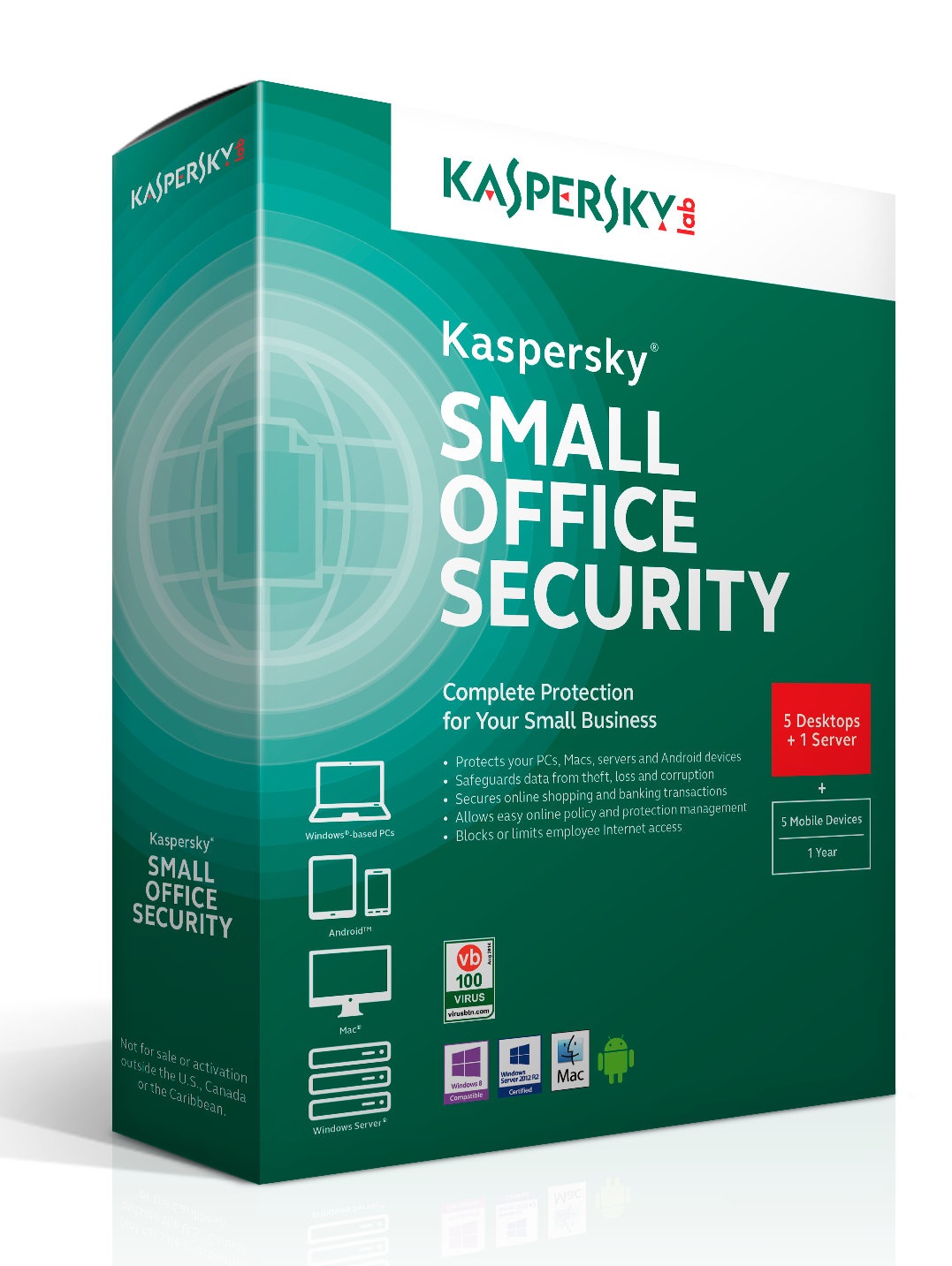 Kaspersky Small Office Security 3 month