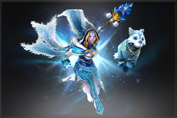 Dota 2Frost Avalanche (Аркана) [Crystal Maiden]