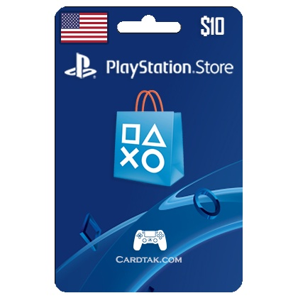 (PSN) Playstation Network 10 USD (USA) ✅ Official