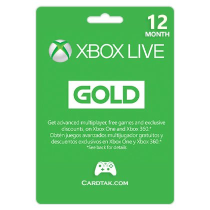 Xbox Live Gold 12 Months - 1 Years (Global)+Discounts🔥 2019