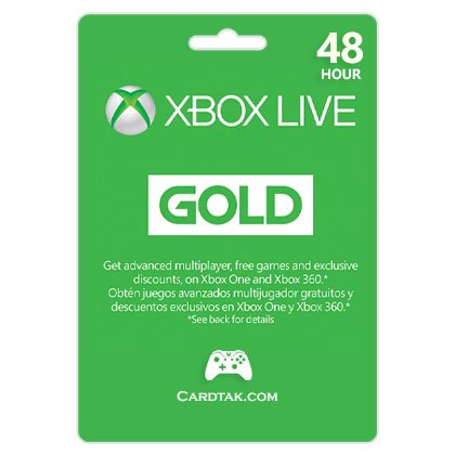 Xbox Live Gold  48 Hours TRIAL (USA) 🎮