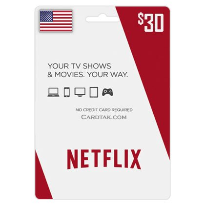 Netflix 30 USD  (USA) Wholesale Price + Bonus 🏆 2019