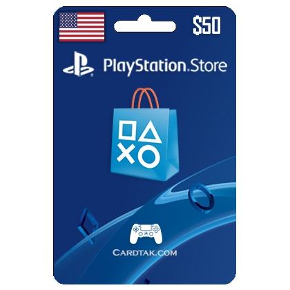 (PSN) Playstation Network  50 USD (USA) 2019