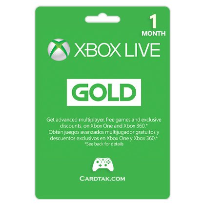 Xbox Live Gold 1 Months - 30 Days (US) +VPN EU/UK/RU 🎮