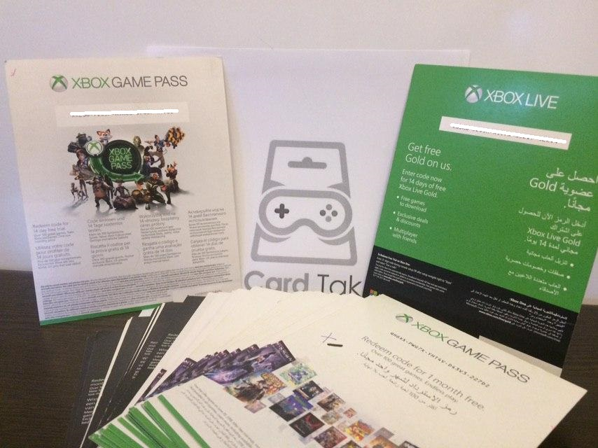 Xbox Game Pass 1 Months XBOX One Trial SCAN | Global 🎮