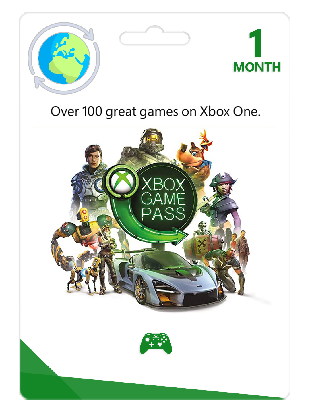 Фотография xbox game pass 1 months xbox one trial scan | global 🎮