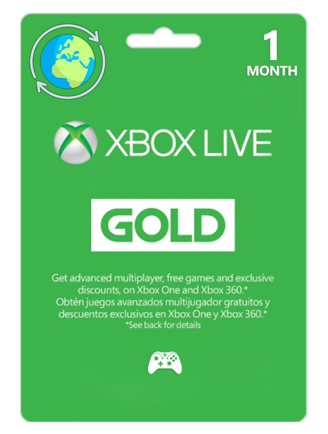 Xbox Live Gold 1 Month EU/UK/RU ... SCAN | Global 🎮