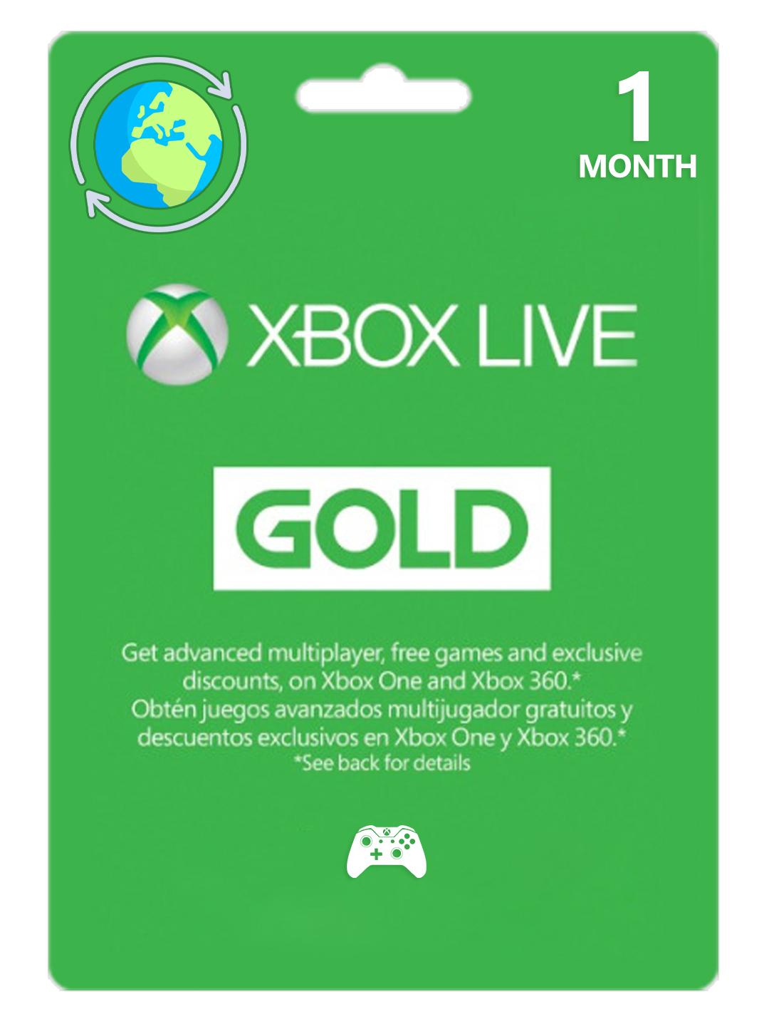 Фотография xbox live gold 1 month eu/uk/ru ... scan | global 🎮