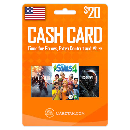 ORIGIN EA Cash Card 20 USD (US)