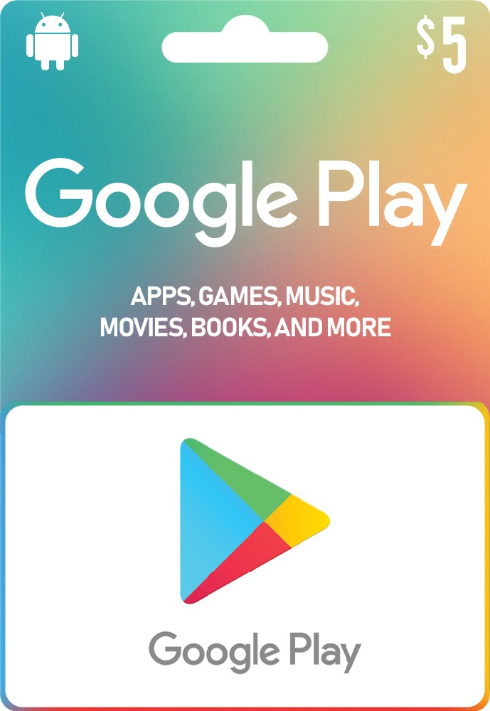 Google Play Gift Card 5 USD (US)
