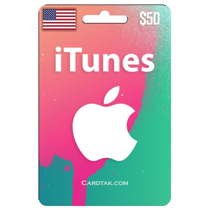 iTunes Gift Card $ 50 USD + SCAN (USA) ✅ Official