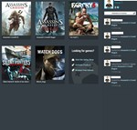 Assassin's Creed Rouge,Watch Dogs+2 Game (uplay)