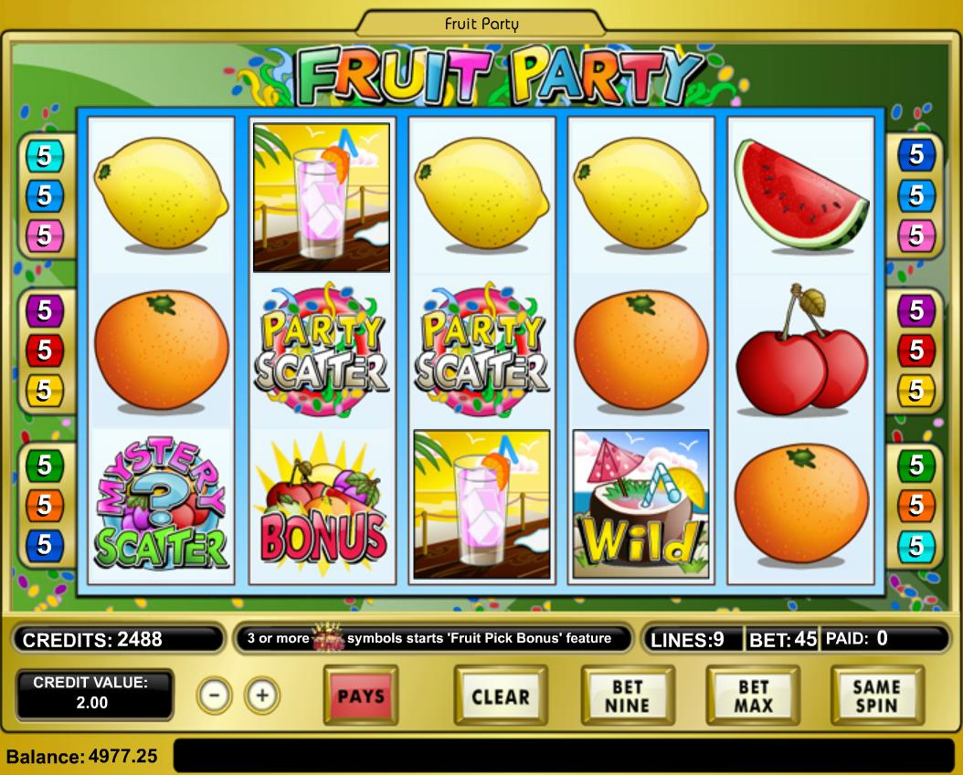 Fruit Party - the source code for online casinos