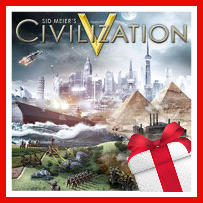 Sid Meier´s Civilization V (SteamGift,Ru/CIS) + Подарок