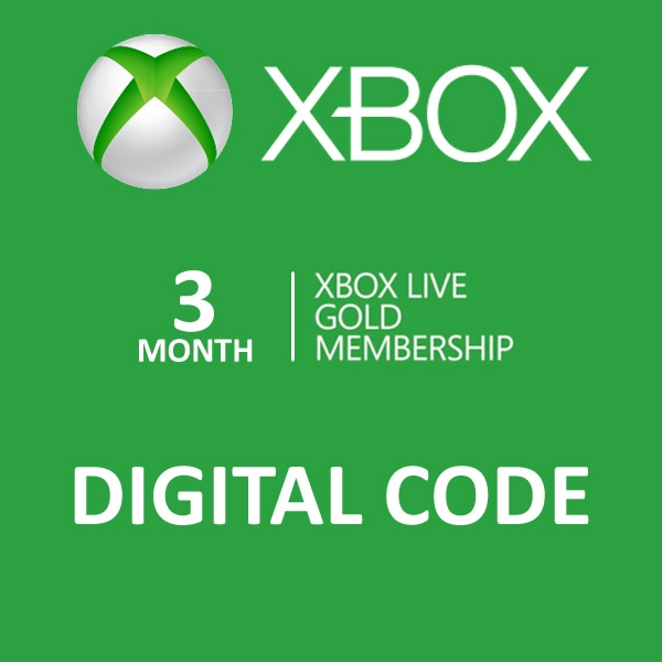 Xbox live Gold 3 Months Worldwide Xbox live Gold 3
