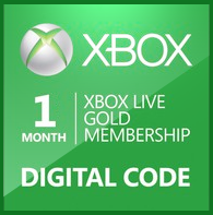 Xbox live Gold 1 Month Worldwide