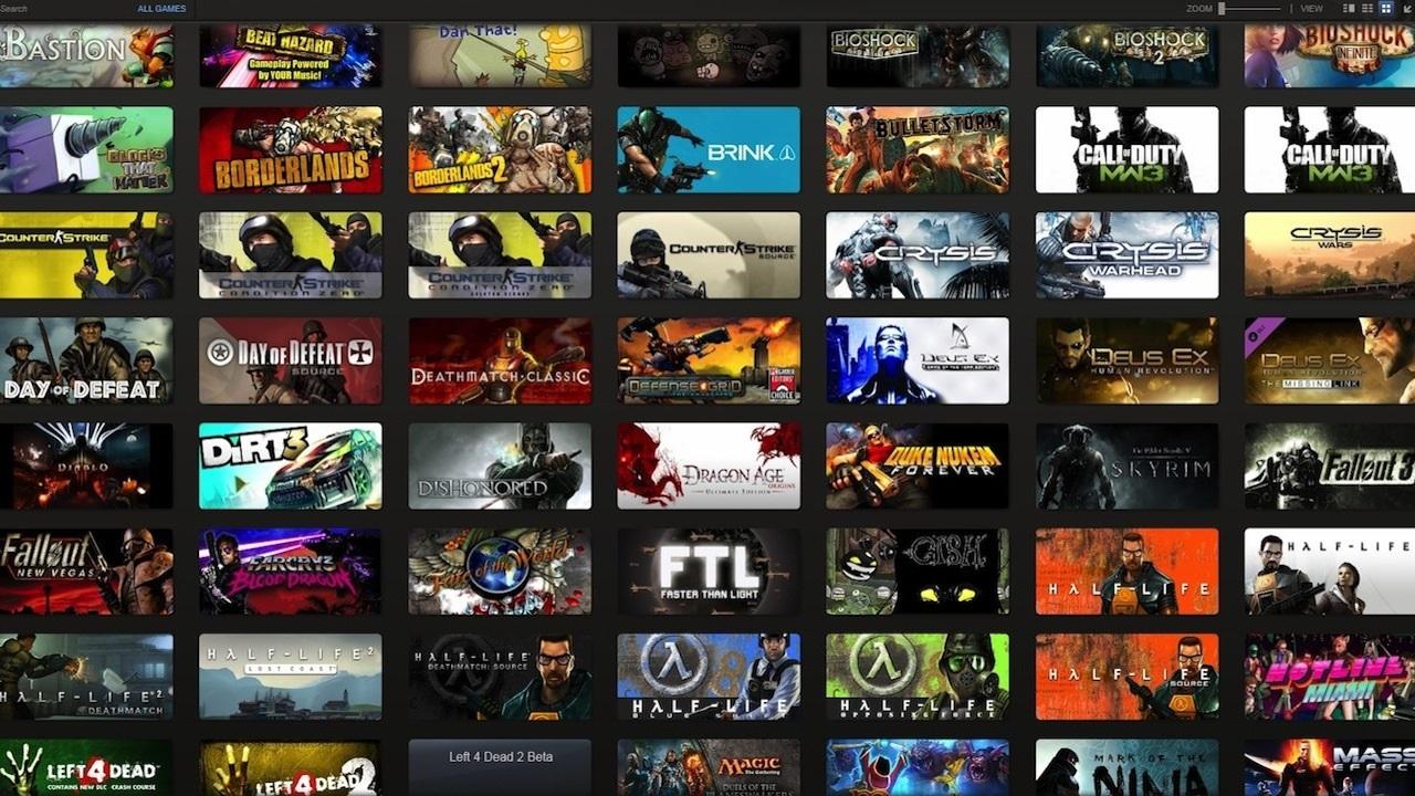 Купить Случайный сборник Steam (аккаунт от 80 и более игр)