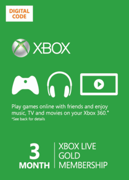 XBOX LIVE GOLD 3 MONTH [Global]