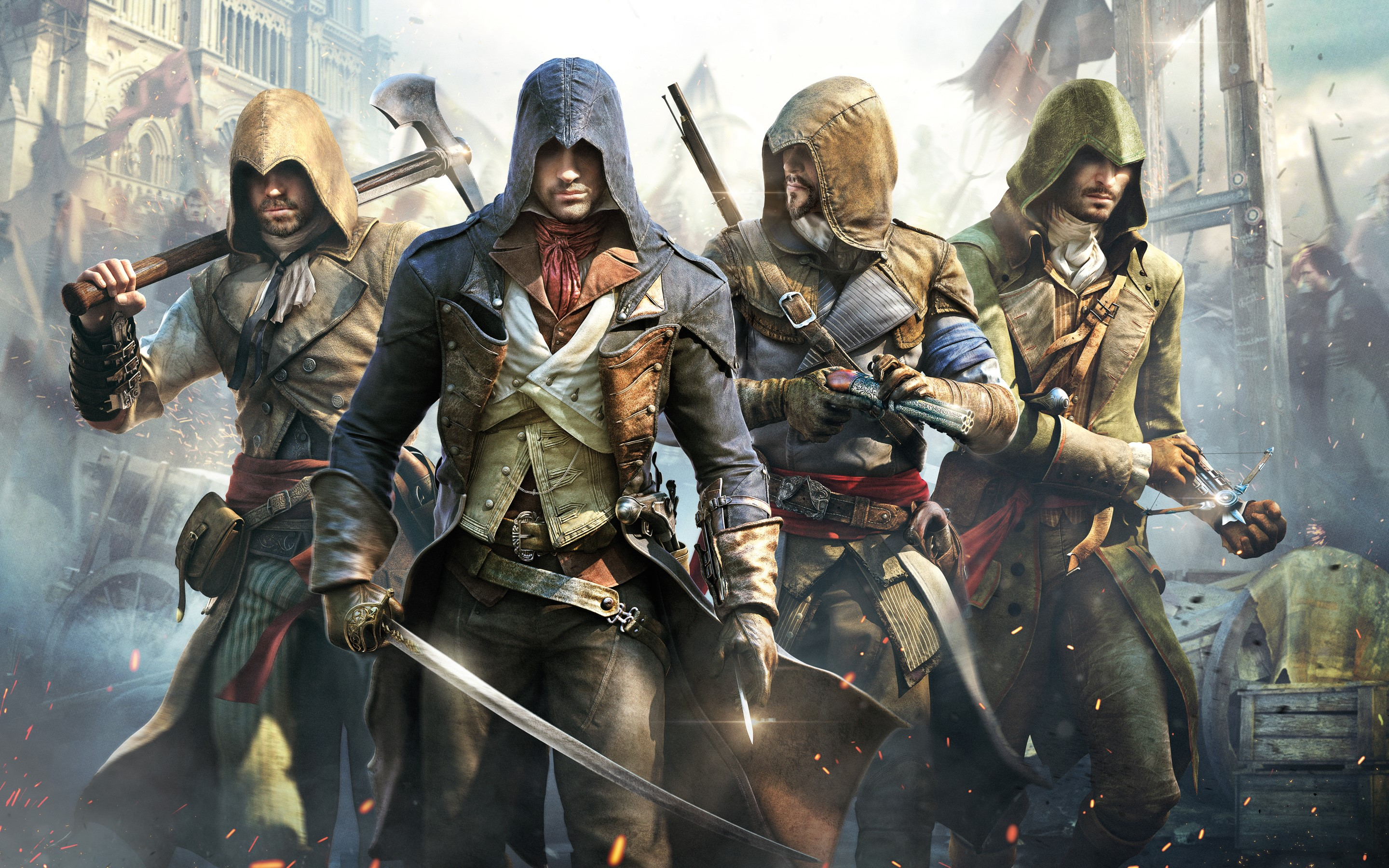 Assassin's Creed Unity + Бонус + Скидка